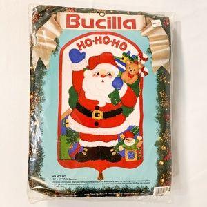 BUCILLA® Ho-Ho-Ho Santa Claus 'Felt Banner' Kit